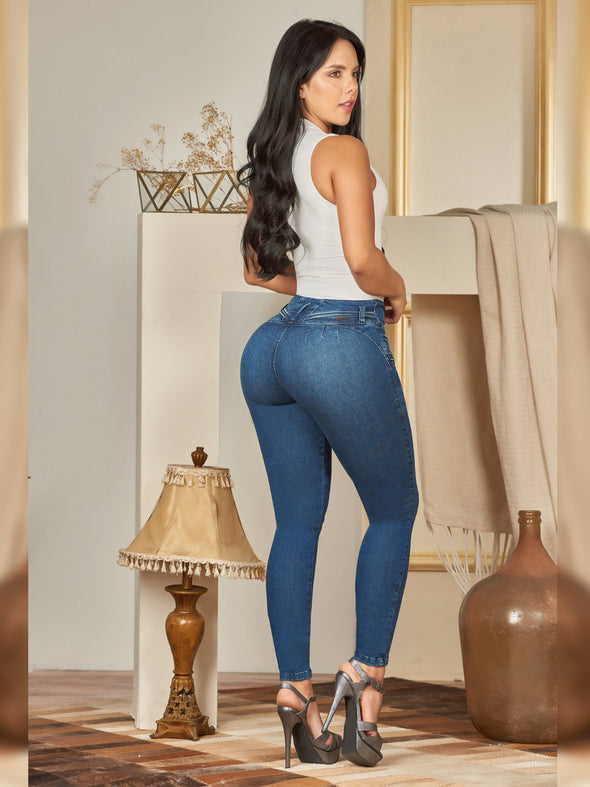 'Anarchy' Butt Lift Levanta Cola Jeans 12402