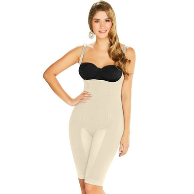 High Compression Firm Control Full Body Shaper w/ Zipper Diane & Geordi 2393