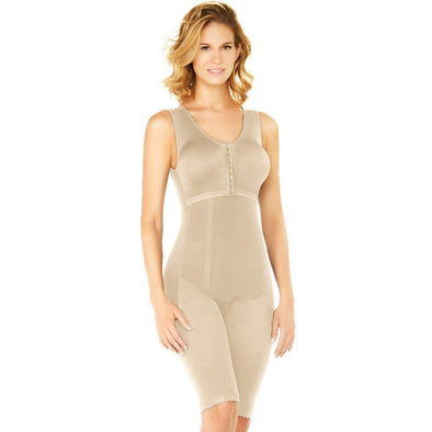 Tummy Control Vest Shaper w/ Zipper & Butt lift Diane & Geordi 2403