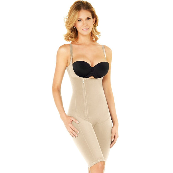 Everyday Sculpting Bodysuit Shaper w/ Zipper Diane & Geordi 2408
