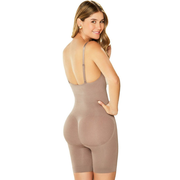 Seamless Mid Thigh Bodysuit Shaper Diane & Geordi DJ07L4