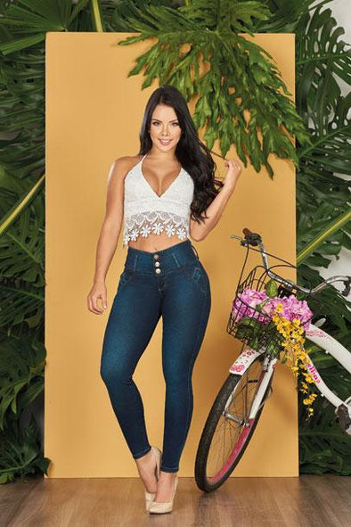 'Genie' Push Up Jeans Levanta Cola 10550