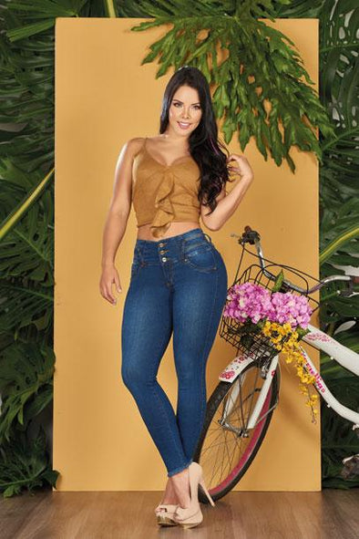 'Easy' Push Up Jeans Levanta Cola 10552