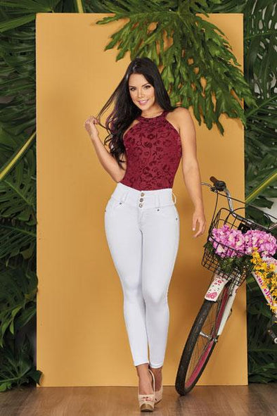 'Pure' Push Up Jeans Levanta Cola 10560
