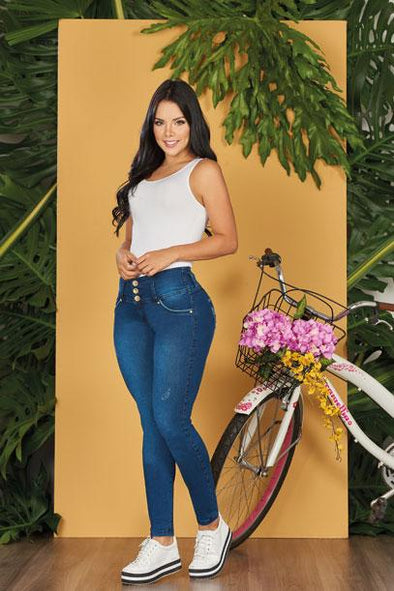 'Sassy' Push Up Jeans Levanta Cola 10563