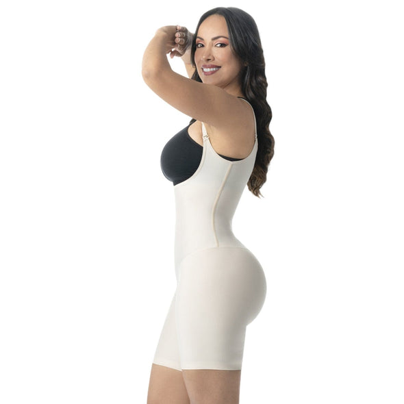 Seamless Mid Thigh Body Shaper Romanza 2081
