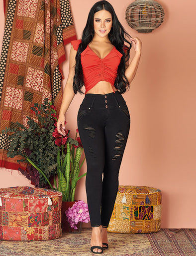 "'Santa Baby"" Colombian Pushup Jeans 10999"