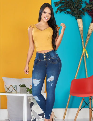'Diana' Push Up Levanta Cola Jeans 10912