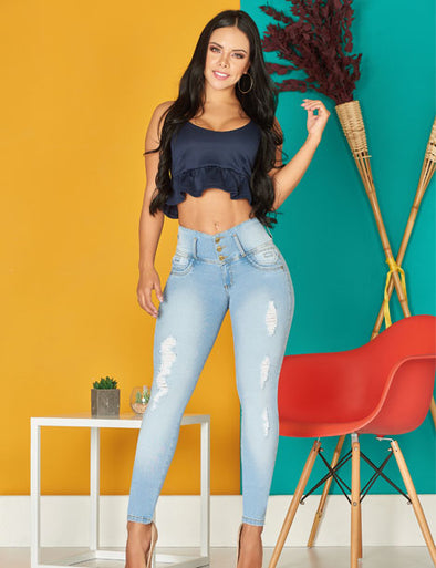 'Autumn' Push Up Levanta Cola Jeans 10996