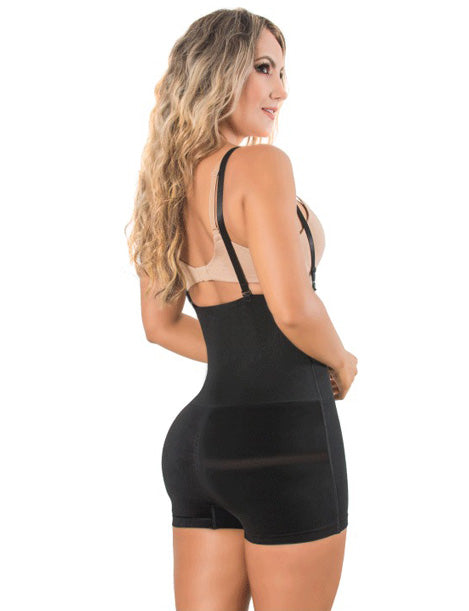 bodysuit shapewear with removable straps