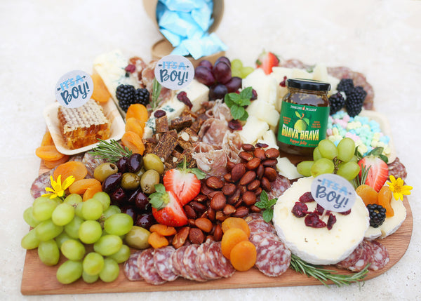 Fig ang Goat Gathering Boards | Baby Showers