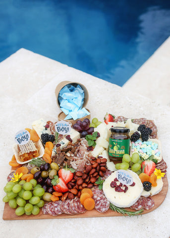 Fig and Goat Gathering Boards | Baby Shower