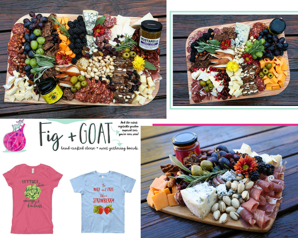 Fig + Goat Holiday Gathering Boards