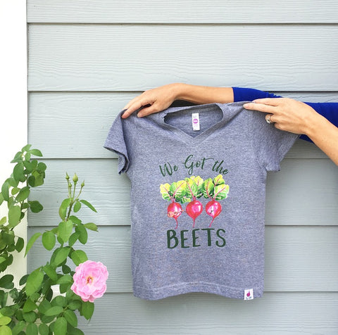 Fig + Goat Beets Tee for Kids