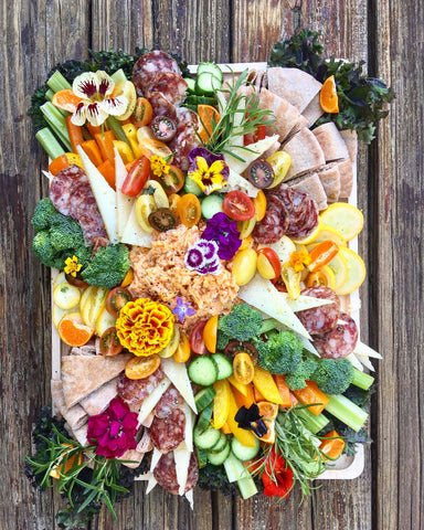The Fresh Crudite Board