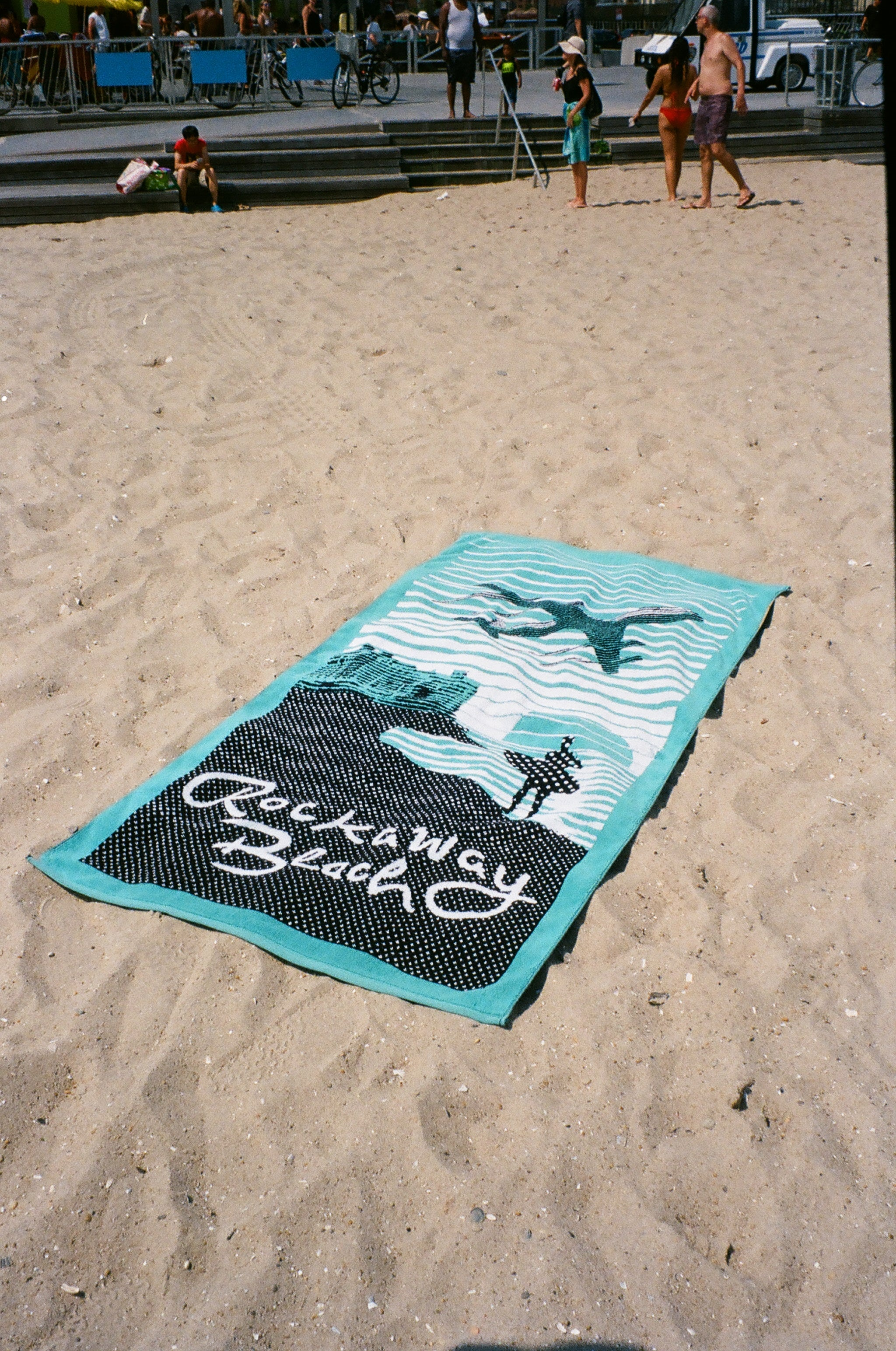 Rockaway Beach Souvenir Terry Towel
