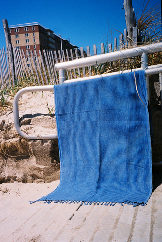 Rockaway Beach Souvenir Terry Towel Plane