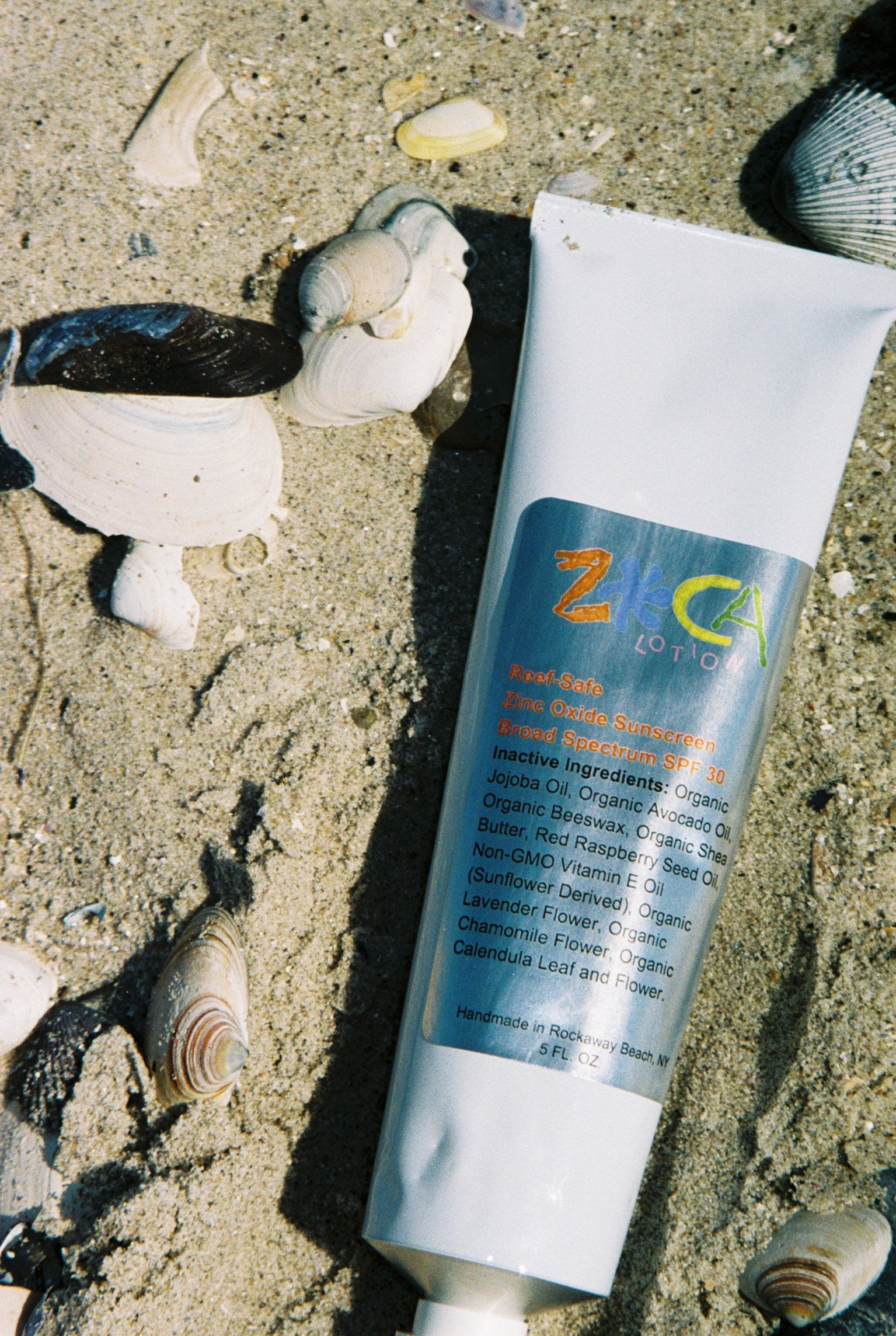 Zoca Lotion Zinc Oxide Sunscreen SPF 30