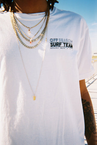 Surf Team Tee Optic White