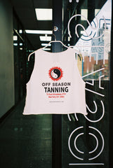 OFF SEASON Tanning Tank White