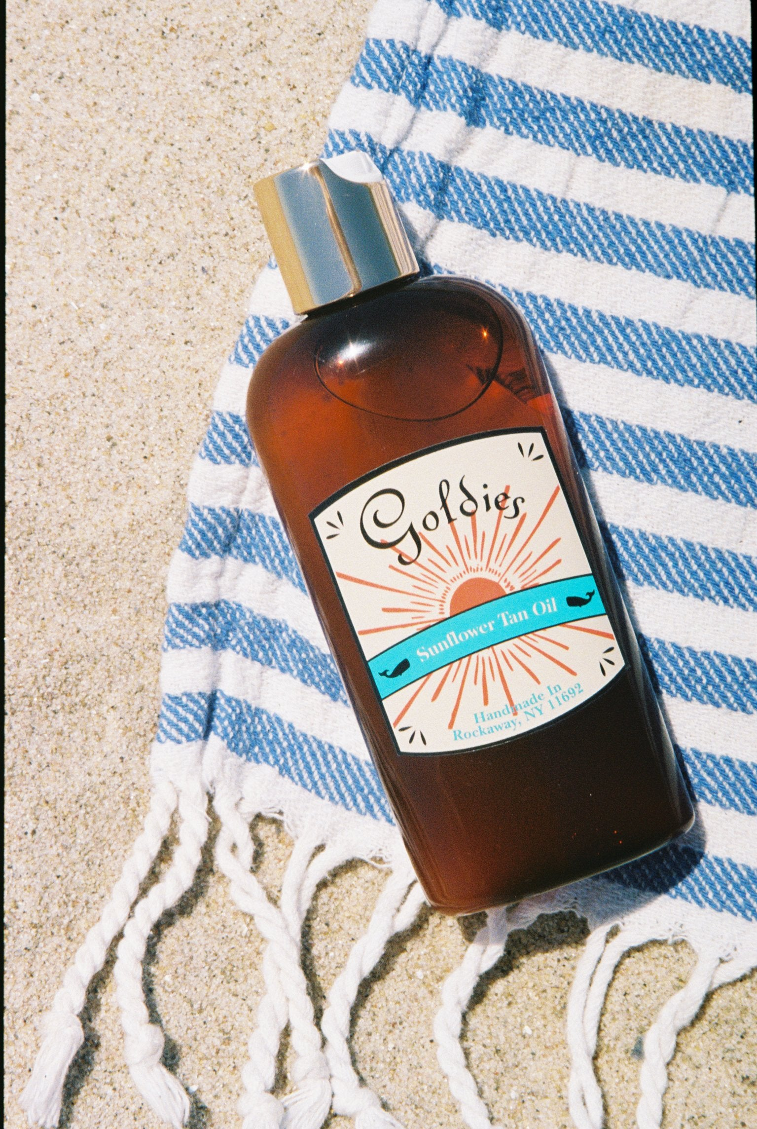 Goldie's Natural Beauty Sun Flower Tan Oil