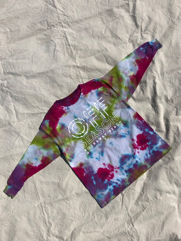 Youth Tie Dye Top #17 (size S)