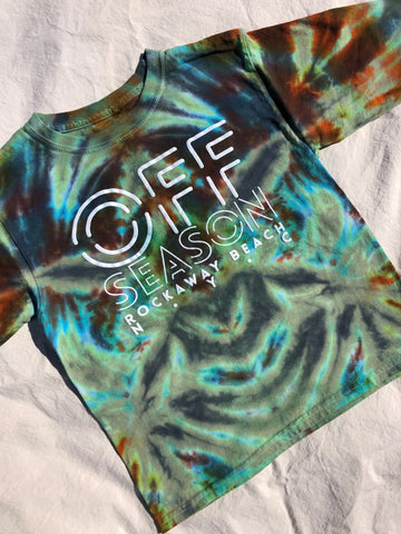 Youth Tie Dye Top #4 (size S)