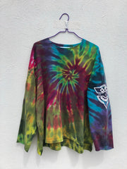 Tie Dye Pull Over #12 (one size)
