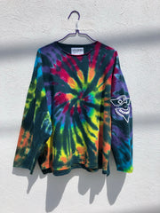 Tie Dye Pull Over #1 (one size)