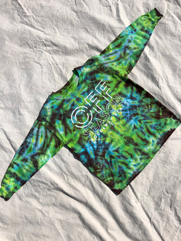 Youth Tie Dye Top #5 (size S)