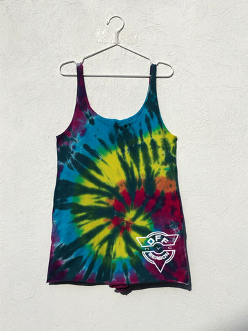 Tie Dye Pull Over #4 (one size)