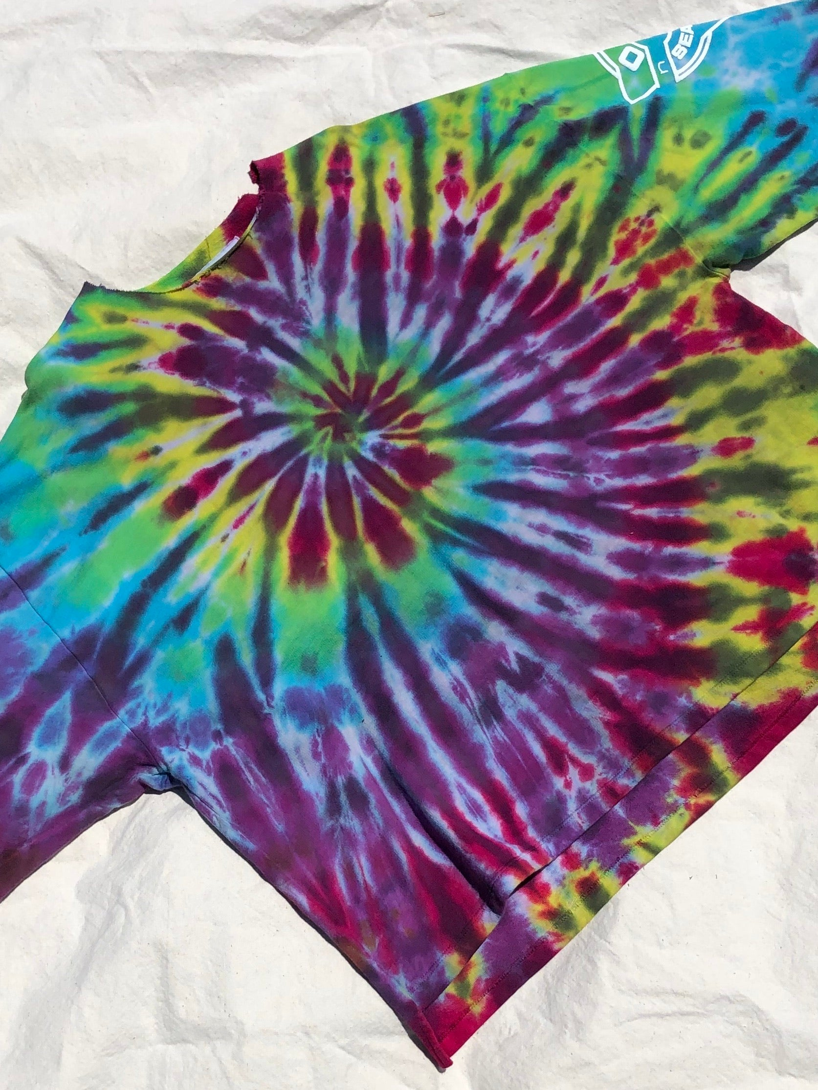 Tie Dye Pull Over #3 (one size)