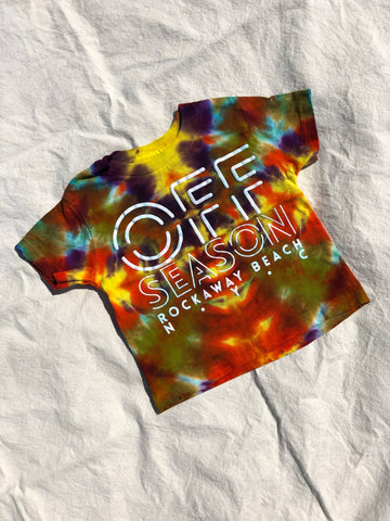 Youth Tie Dye Top #16 (size S)