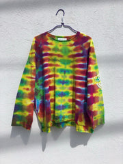 Tie Dye Pull Over #2 (one size)