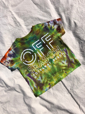 Youth Tie Dye Top #3 (size S)