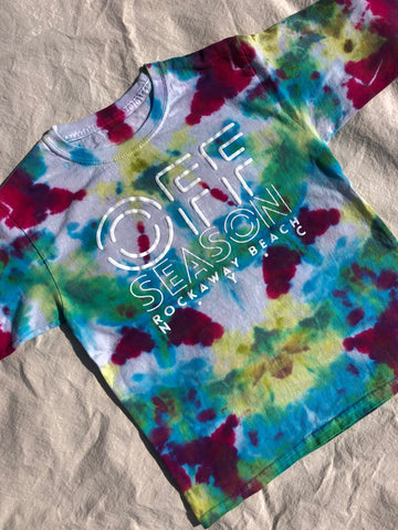 Youth Tie Dye Top #9 (size S)