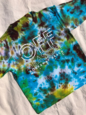 Youth Tie Dye Top #7 (size S)