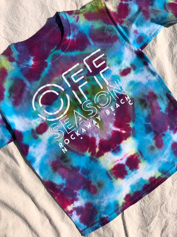 Youth Tie Dye Top #13 (size S)