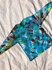 Youth Tie Dye Top #14 (size S)