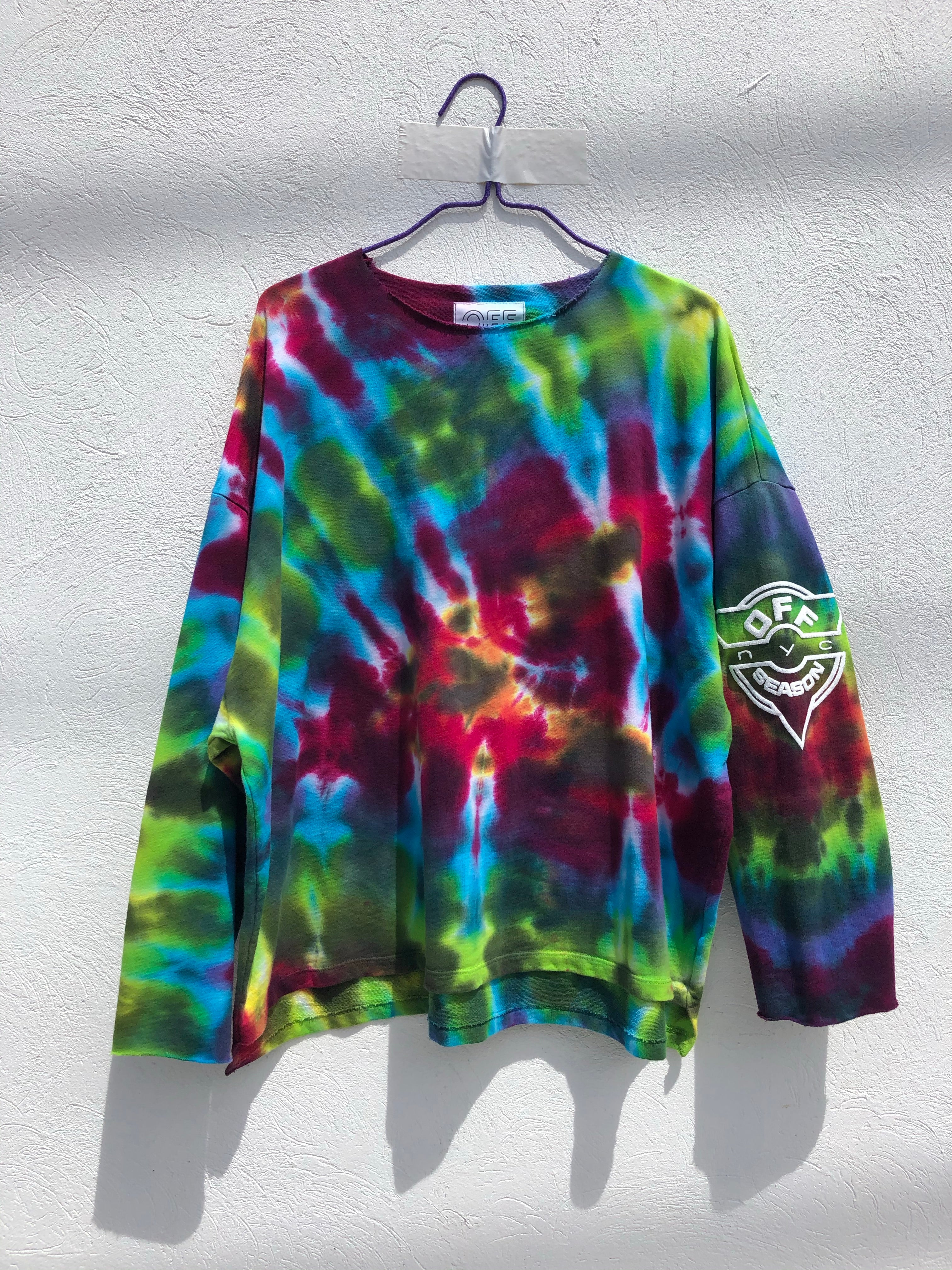 Tie Dye Pull Over #6 (one size)