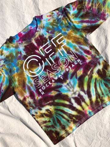 Youth Tie Dye Top #15 (size S)