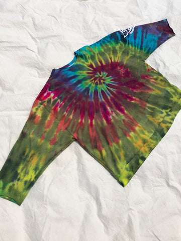Tie Dye Pull Over #7 (one size)