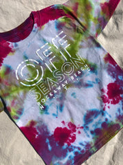 Youth Tie Dye Top #1 (size S)