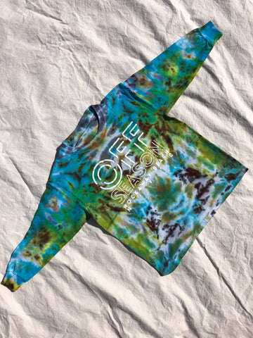 Youth Tie Dye Top #12 (size S)