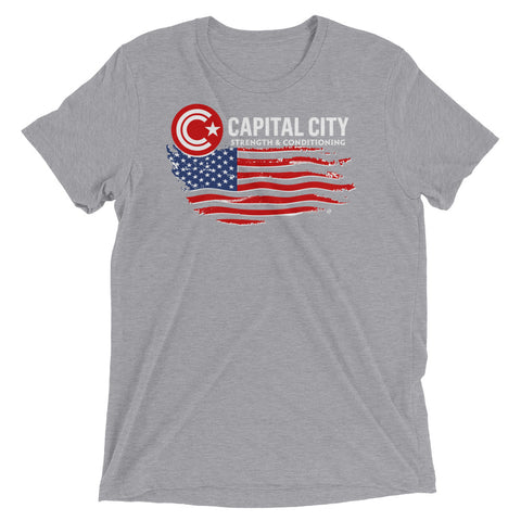 Capital City Strength & Conditioning Men's Flag Tee