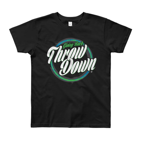 Giving Back Throwdown Youth Short Sleeve T-Shirt