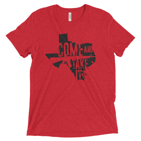 Texas - Come and Take it - Black Print
