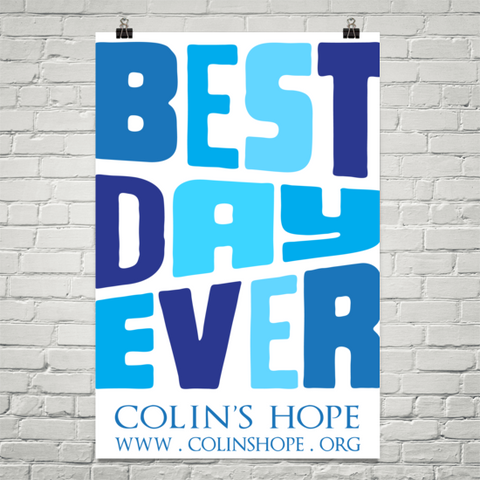 Colin's Hope Poster
