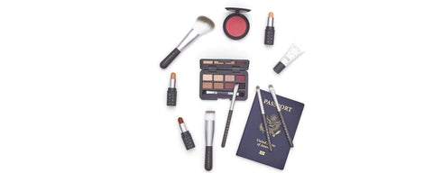 Hero - Mini Travel Makeup Brush Set With Passport