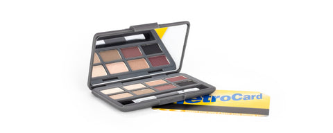Hero- Mini Eye Palette Metro Card Size Travel